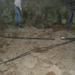 Демонтаж стяжки и утеплителя от застройщика