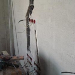 Электромонтаж в таунхаусе - главный телевизор