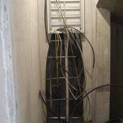 Электромонтаж в таунхаусе - вводной электрощит