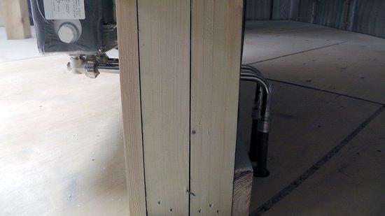 Монтажные трубки отопления на мансарде