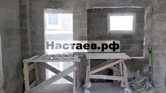 Новые проемы и перекрытия в двухэтажном гостевом доме