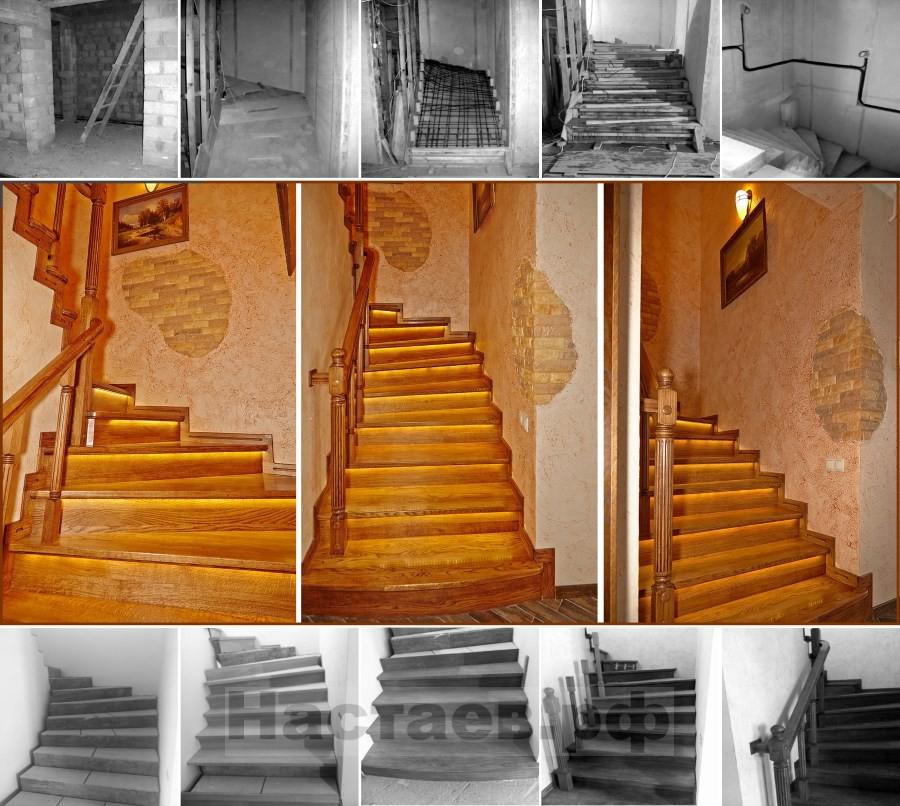 Лестница первый этаж