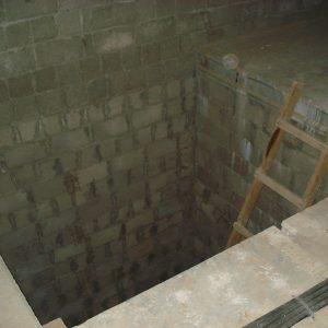 Ремонт таунхауса лестничная шахта, как было