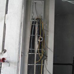 Электромонтаж в таунхаусе - электрощит второго этажа