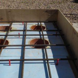 Готовлю большое патио к укладке бетона
