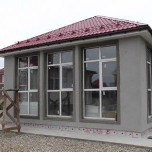 Мокрый фасад гостевого дома в этом сезоне окончен