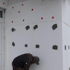 Тонкостенная штукатурка мокрого фасада